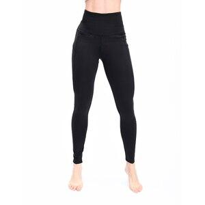 Image 4 - 2019 Fashion high waist Elastic leggings for fitness female new arrivals sports legging workout plus size stretch pants Legins