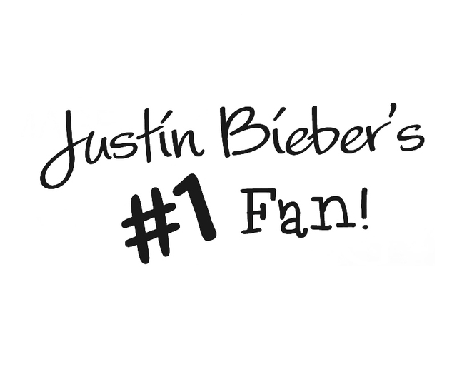 Stickers Quote Justin Biebers   Nail Polish Ideas