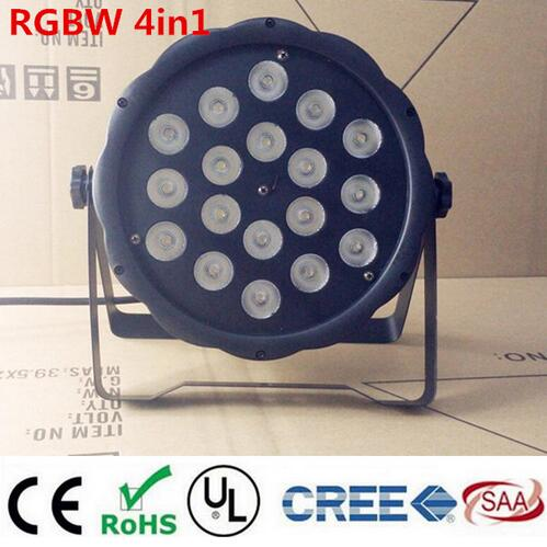 LED Par light 18x12W RGBW 4in1 LED Luxury DMX  Led Flat Par Lights djLED Par light 18x12W RGBW 4in1 LED Luxury DMX  Led Flat Par Lights dj