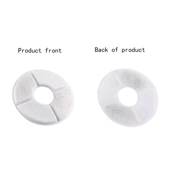 Pet Water Fountain Cotton Carbon Filter Replacement Improve the Water Quality 6 Pcs/lot 4