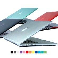 "Прозрачный Clear чехол для MacBook Air Pro Retina 11 12 13 15 с клавиатурой Чехол сумка для ноутбука чехол для Mac Книга 11.6 ""13.3"" 15.4″"