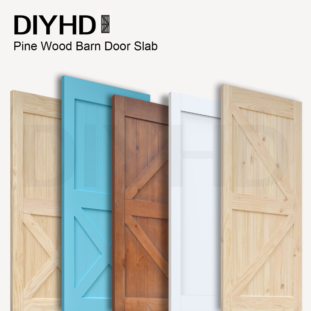 Online get cheap sliding barn doors interior aliexpress for Cheap sliding barn doors