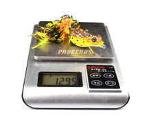 1pc PRO BEROS Brand Frog Lure High Quality Fishing Bait 6 colors fishing lures 7cm-2.76″/0.46oz-12.95g fishing tackle