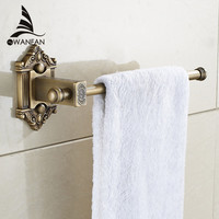 New Antique Brass Single Towel Bar Towel Rack Holder In The Bathroom Wall Mounted Towel Ring