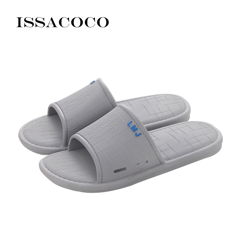 ISSACOCO 2018 New Shoes Sandal Slippers Summer Shoes Men Shoes Man - Men's Shoes