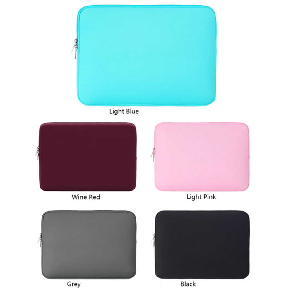 Laptop Hot Protective Sleeve Case Zipper Bag para 14 polegada es MacBook Air Pro1 12 13 14 15 15.6 polegada ultrabook Notebook Bag Hot Sale
