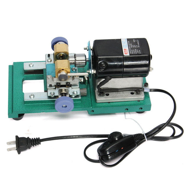 220V 280W 60Hz Pearl Drilling Holing Machine Driller Bead Jewelry Punch Engraving Engraver Machine Tool Full Set 1