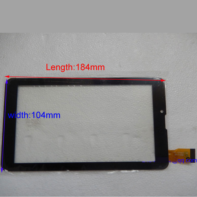 Black New Touch Screen Digitizer 7 inch Oysters T72 3g EXPLY HITTablet Outer Touch panel Glass Sensor replacement free film new touch screen digitizer 7 inch oysters t72 3g tablet outer panel glass sensor replacement wjhb