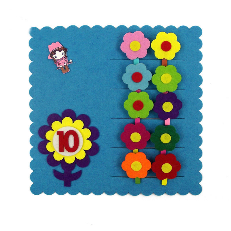New EVA Kids DIY Assembling Number Puzzles Jigsaw Pair Match Games Toys Gifts