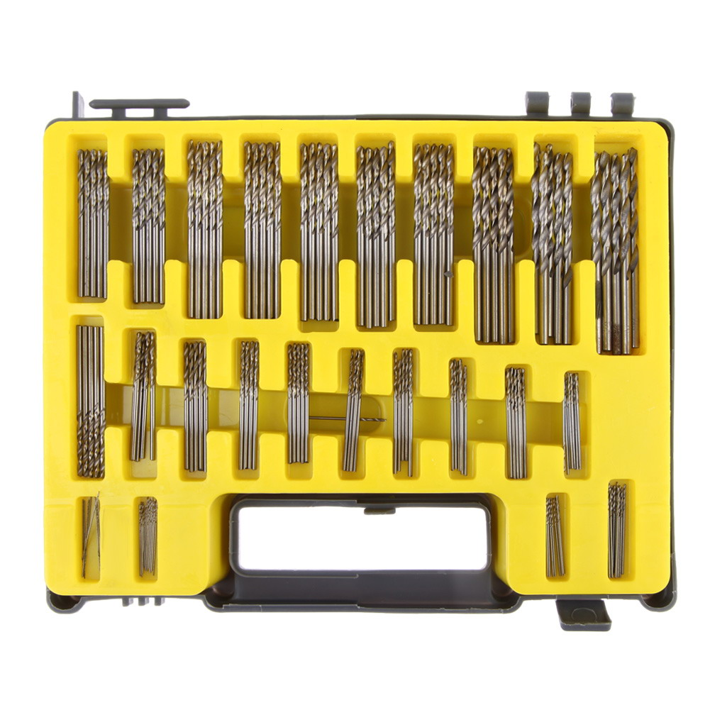1 Set Hss Micro Bit Twist Drill Set Kit Mini Small Precision Hss Power Drill 0.4mm-3.2mm Pcb Drill Bit Craft Hole Maker + Case free shipping of 1pc hss 6542 made cnc full grinded hss taper shank twist drill bit 11 175mm for steel