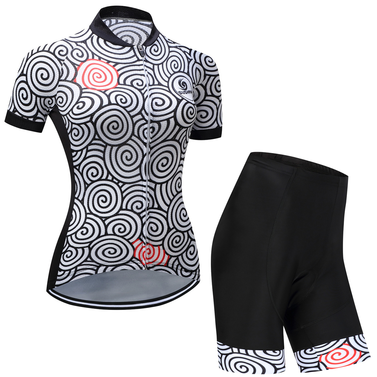 2017 SUSHAN Cycling Sets Women Jersey Gel Pad Bike Jersey&Pants Cycling Clothes MTB Colthing Sport Suits