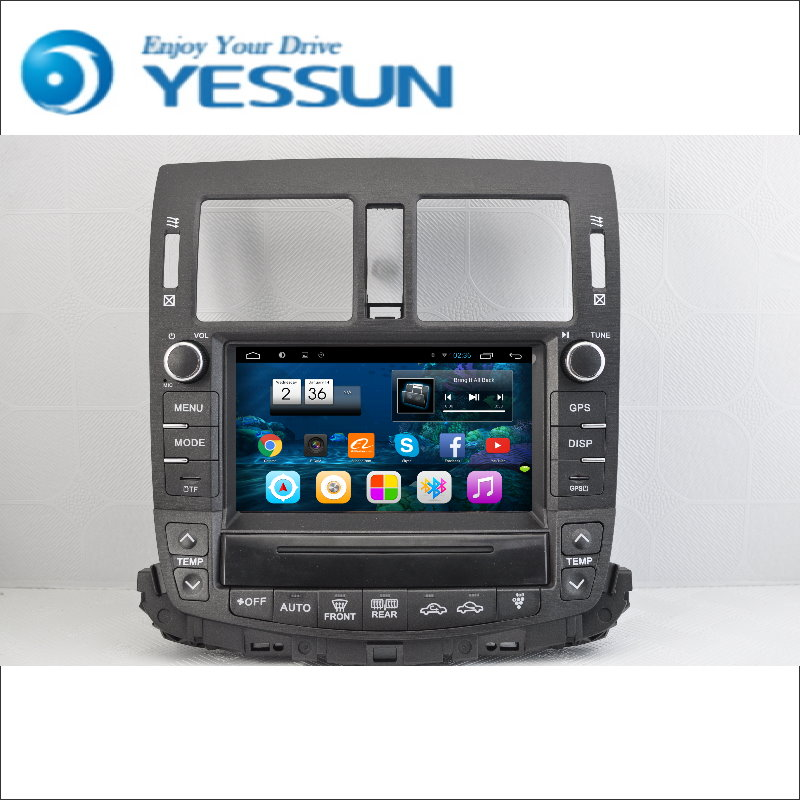 YESSUN Android Radio Car DVD Player For Toyota Crown 2010~2014 stereo radio multimedia GPS navigation with WIFI Bluetooth AM/FM