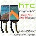 Лучший! оригинальный LCD Для HTC НОВЫЙ HTC One E9 Дисплей С Сенсорным Экраном Дигитайзер Ассамблеи Замена