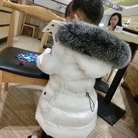 Для маленьких мальчиков зимние пальто для девочек пуховое пальто куртка для мальчиков детская верхняя одежда с капюшоном теплая одежда дет