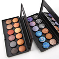 New Arrival 1pcs Metallic Baked Eyeshadow Palette Professional 12 Color Makeup Eyeshadow maquiagem Cosmetic Set