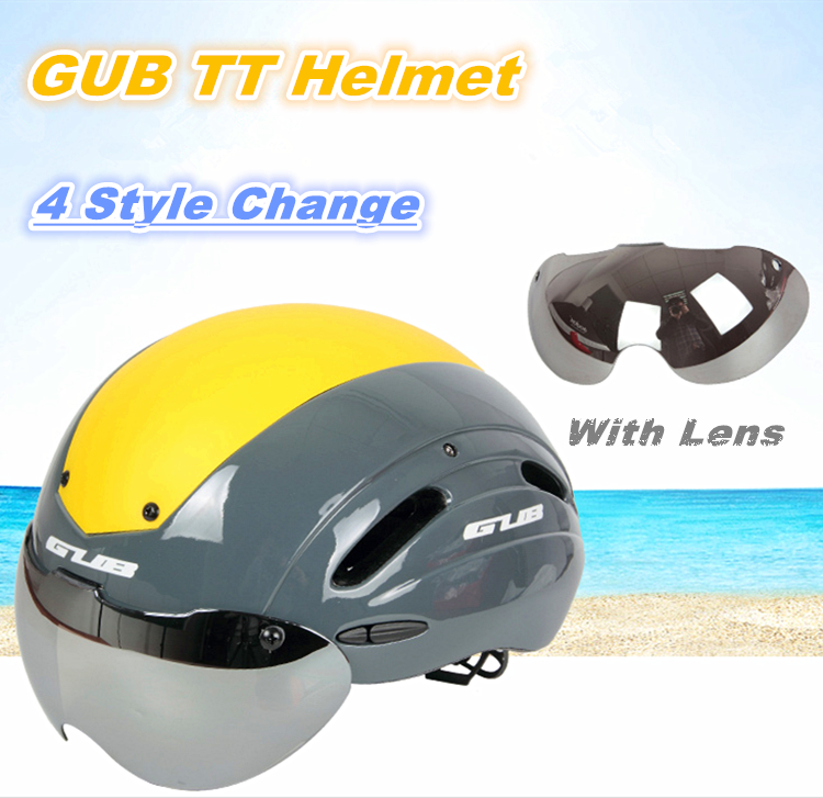Bicycle Track Helmet GUB TT bike Cycling Helmet Bike MTB cascos mtb bike Road Bike Helmet With Magnetic Visor casco ciclismo gub k90 outdoor bike bicycle cycling epu helmet gray