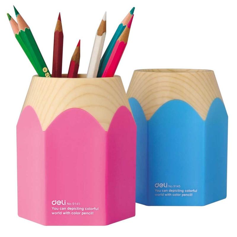 Lápis grande suporte da pena da mesa organizador de escritorio caneta material escolar acessórios de escritório zakka porta para 6435