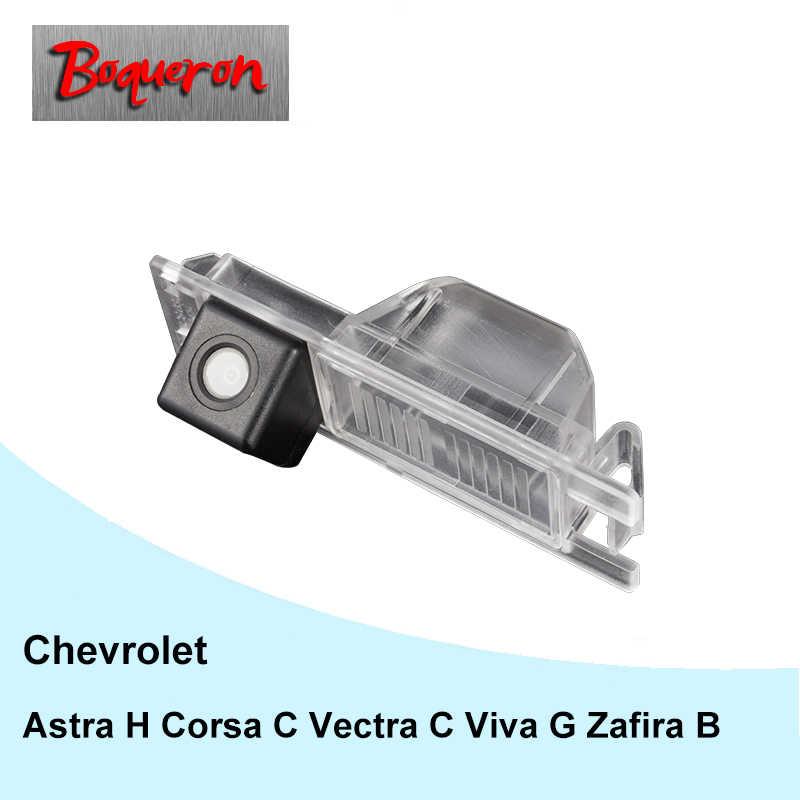 BOQUERON pour Chevrolet Astra H Corsa C Vectra C Viva G Zafira B caméra de recul de voiture HD CCD caméra de recul à Vision nocturne