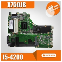 X750JB GT740M/2 ГБ I5 4200HQ материнская плата для ASUS X750J k750J A750J X750JB X750JN Тетрадь материнская плата