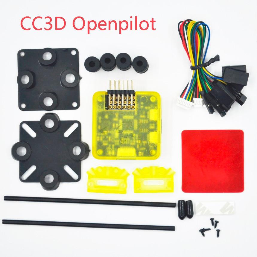 Openpilot CC3D EVO flygkontroll Staight Bent Pin stm32 Open Source 32 Bits cc3d Kontroll för FPV QAV250 Quadcopter ZMR250