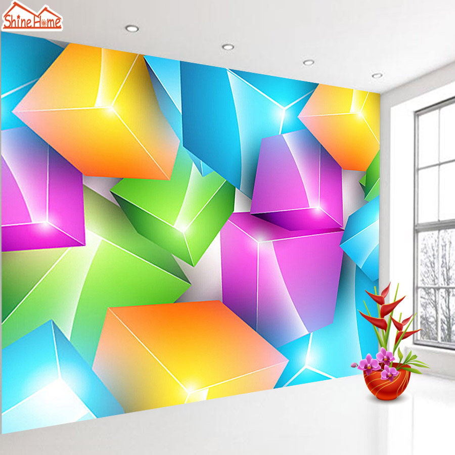 ShineHome-Brick Wall Paper Wallpaper Backdrop 3d Mural for Walls 3 d Wallpapers for Livingroom Kids 3 d Mural Roll Room Home Art shinehome 3d room brick wallpaper black and white zebra strip wallpapers 3d for walls 3 d livingroom wallpapers mural roll paper