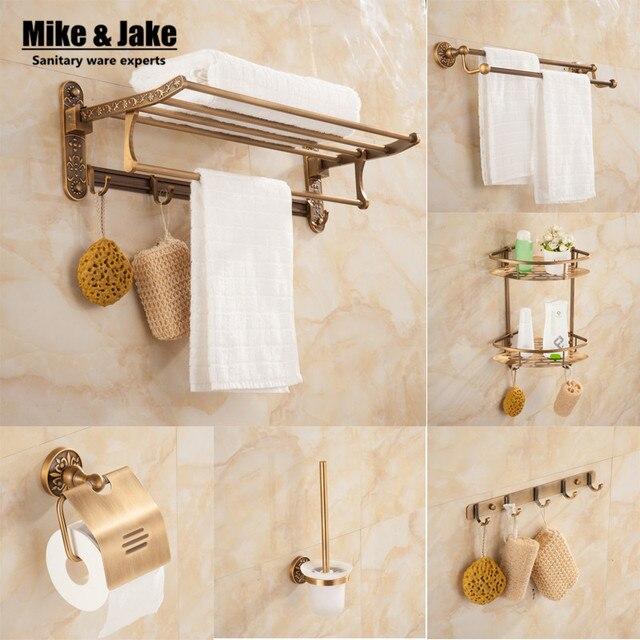 Bagno d\'oro con diamante kit bagno barra di tovagliolo mensola porta ...