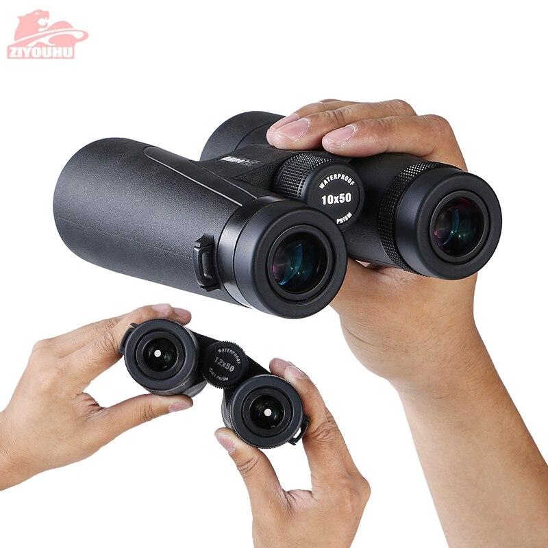 Image 4 - New Arrival 12x50 HD Professional Binoculars Large Objective Lens BAK4 Prism Binocular Telescope lll Night Vision Summer Hiking-in Monocular/Binoculars from Sports & Entertainment