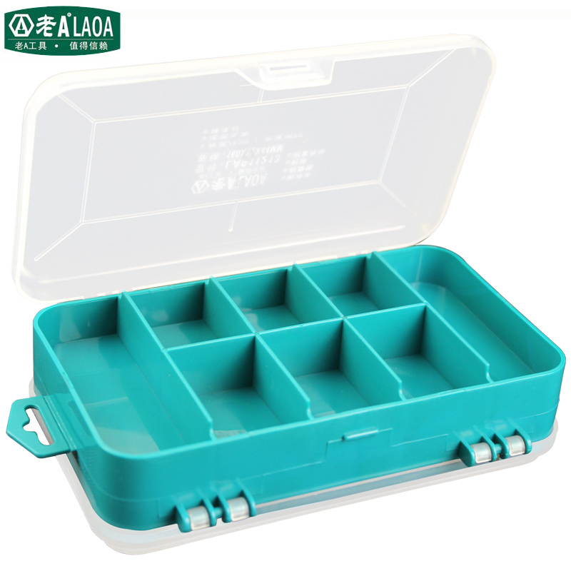 LAOA 13 Units Parts Storage Box Super Resistance To Fall Off Tool Box Element Boxes Jewel Case