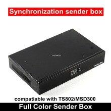 Caja de emisor de pantalla de Video LED P5 P10 vacía con fuente de alimentación Meanwell instalada, puede instalar Tarjeta de envío TS802/MSD300
