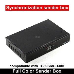 Image 1 - فارغة P5 P10 شاشة عرض فيديو ليد مرسل صندوق مع ميانويل امدادات الطاقة المثبتة ، يمكن تثبيت TS802/MSD300 إرسال بطاقة
