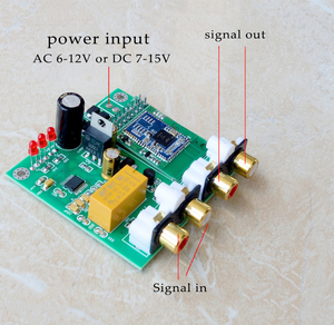 Image 5 - CSR8675 + PCM5102A Bluetooth 5.0 APTX HD DAC Bluetooth Receiver Supports analog input and output