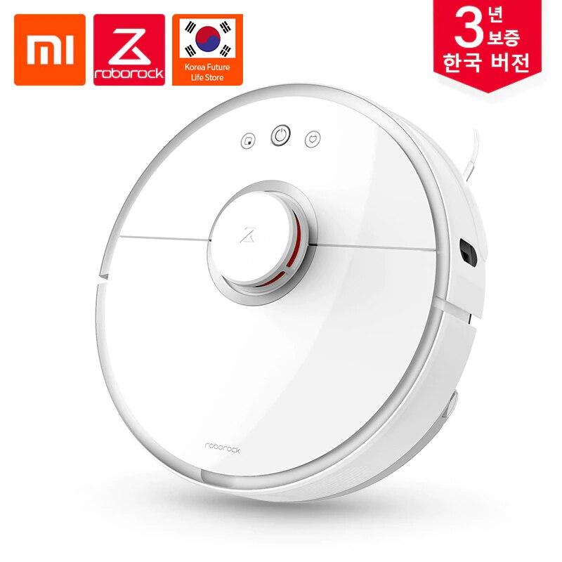 Coréenne Version Xiaomi Roborock S50 Cleaner Vide 2 pour la maison Automatique lingette humide De Nettoyage Intelligent Zone Prévue télécommande