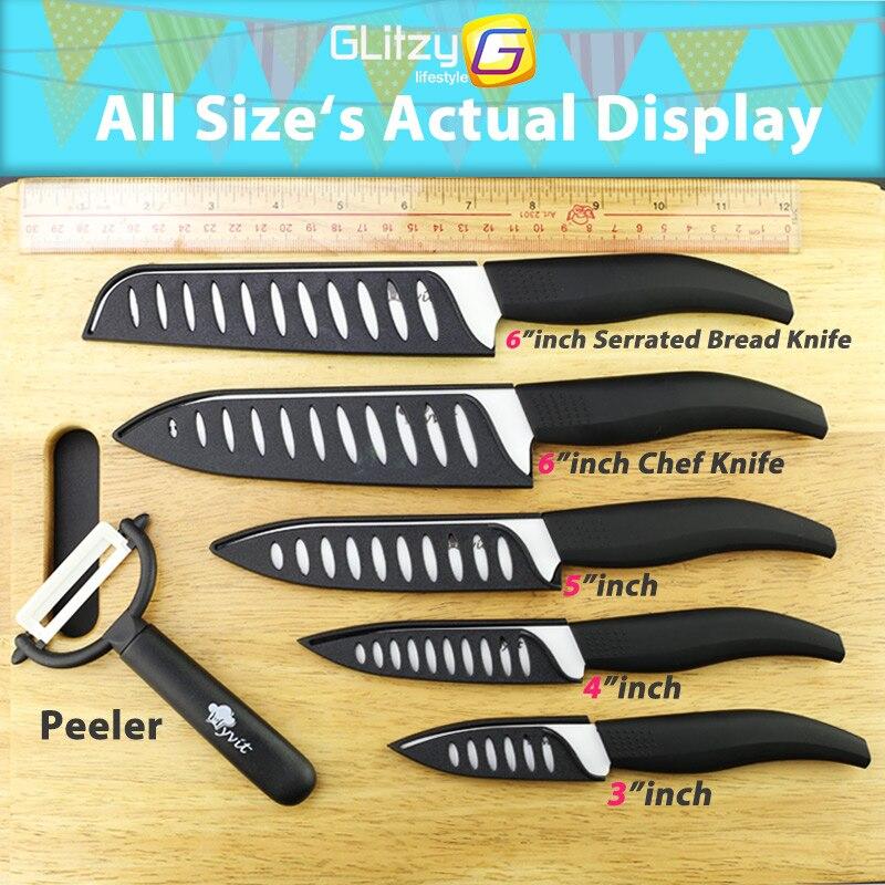 Keramički nož Bijela oštrica cirkonij 3 4 5 inča + 6 inča - Kuhinja, blagovaonica i bar - Foto 3