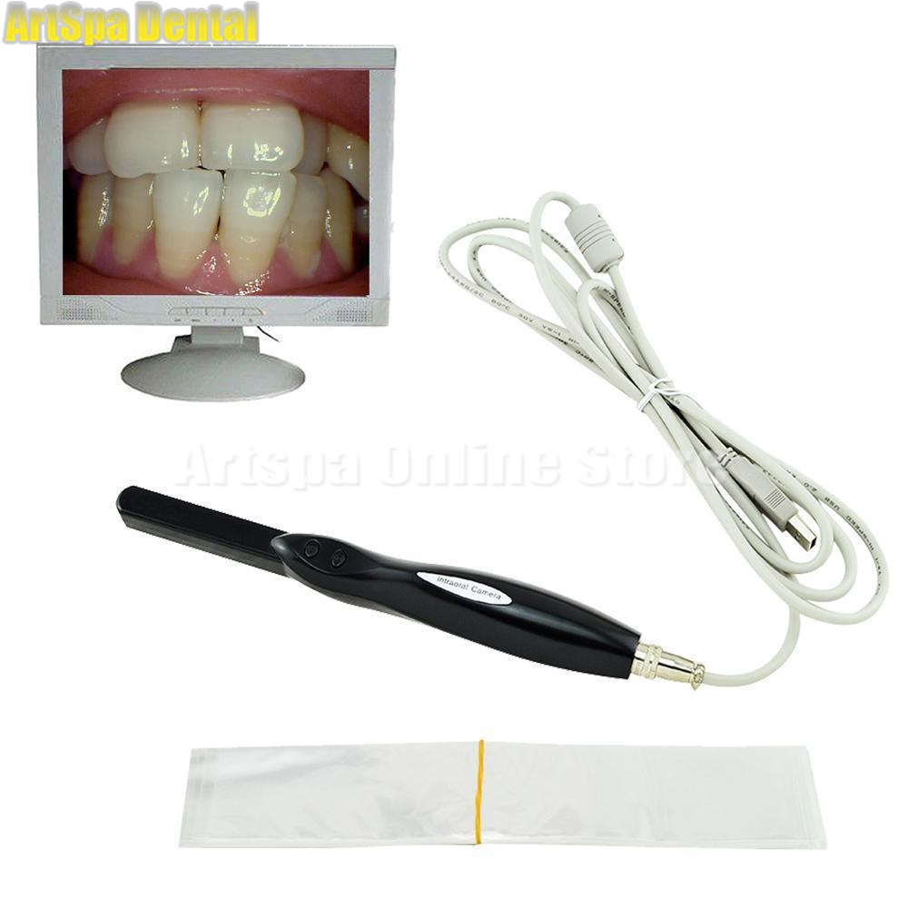 Dental Dentist HD Intra Oral Camera 6 Mega Pixels 6-LED Clear Image USB CMOS Auto-focus jenefer philp focus on oral interaction