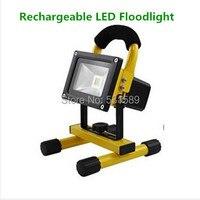 4pcs 30W LED Portable Flood Lights, LED Rechargeable Flood Light, Outdoor Emergency Lighting+2 Chargers+ 8pcs 4400mah battery