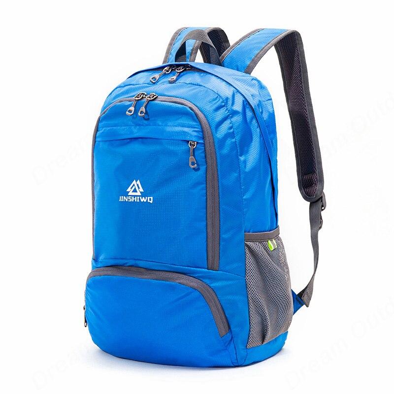 Image 5 - Lightweight Foldable Waterproof Nylon Women Men Skin Pack Backpack 20L Travel Outdoor Sports Camping Hiking Bag Rucksackhiking bagrucksack bagrucksack 20l -
