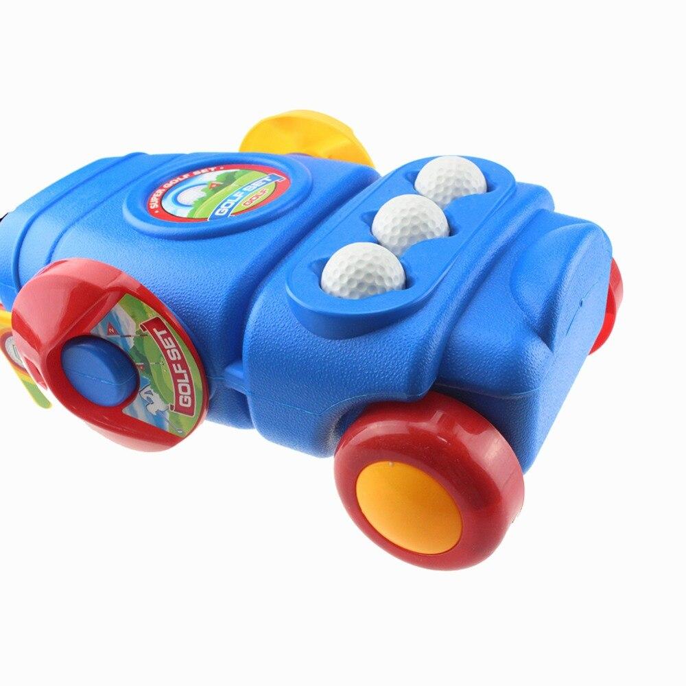 Гребень Гольф разноцветные пластиковые мини Гольф клуб набор Гольф игрушки для детей дети Крытый Открытый Дворе Спортивные Игры Гольф клуб...