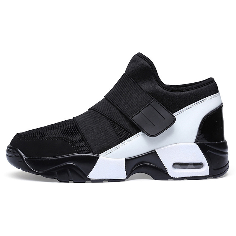 New Arrival Couple Athletic Outdoor Sports Running Shoes Air Cushion Breathable Male Female Trainers Walking Jogging Shoes CH618