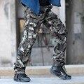 2017 Камуфляжные штаны комбинезоны мужские брюки мужские свободные военные брюки повседневные брюки