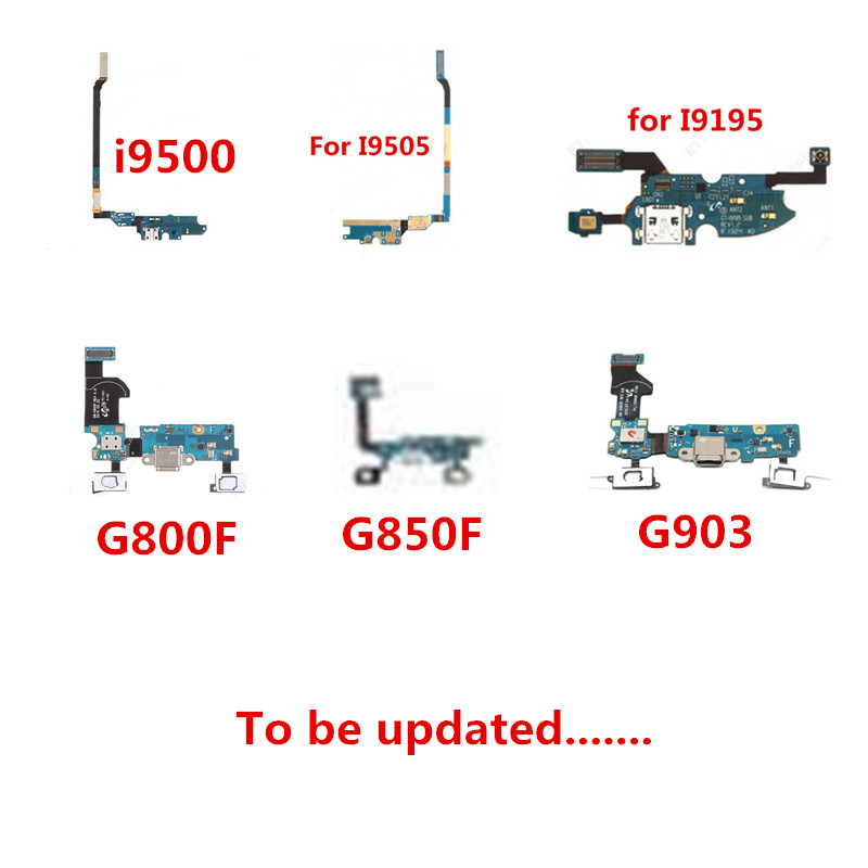 Charging Port Dock Connector Flex Cable For Samsung Galaxy S4 S5 Mini I9505 I9500 I337 I9192 I9195 G800F G850F S5 Neo G903