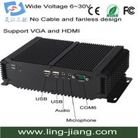 Fanless Industrial Computer With Intel CPU(LBOX 2550)