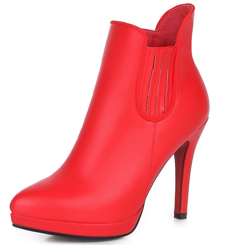 Online Get Cheap Red High Heel Boots -Aliexpress.com | Alibaba Group