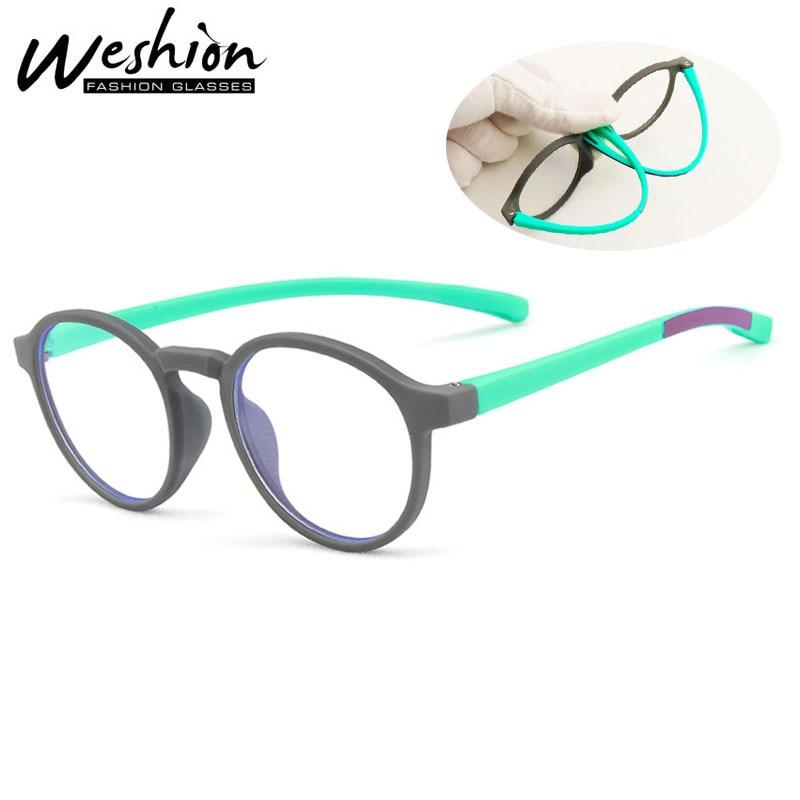 Blue Light Blocking Glasses Kids Sunglasses Flexible Eyeglasses Children Reading Optical Frame Computer Glasses Girls Boys