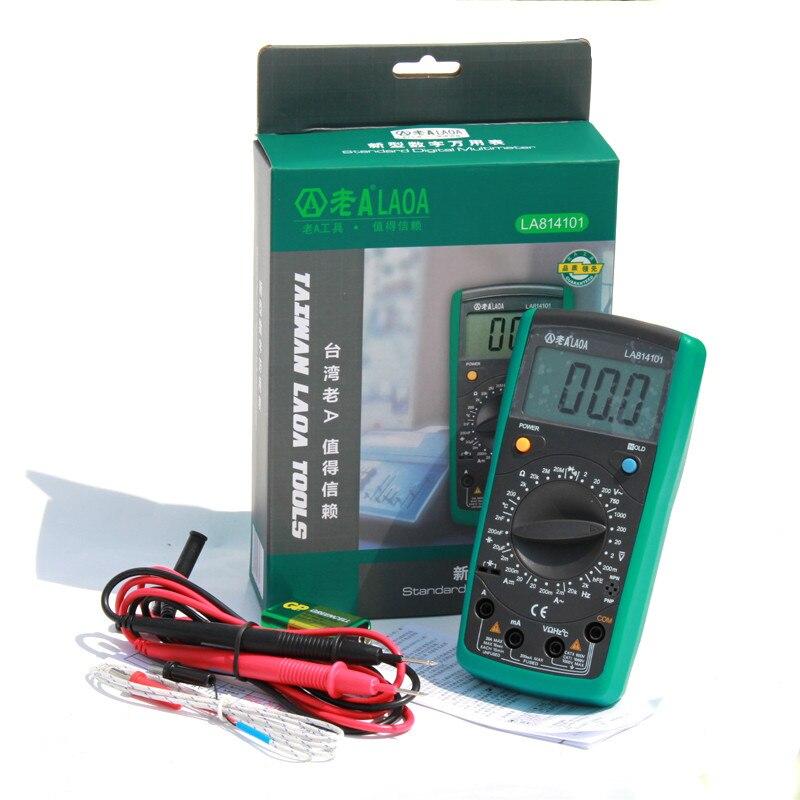 LAOA digitális multiméter multimetro műszer szonda ampermérő - Mérőműszerek - Fénykép 4