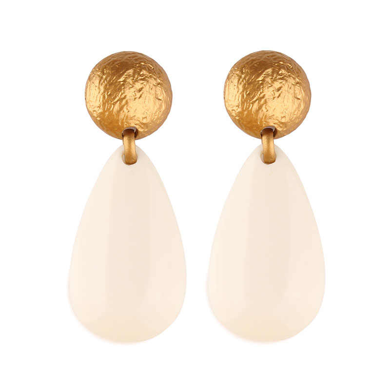 Miwens Za Maxi Vintage Simulated Pearl Drop Earrings Women New Long Big Statement Wholesale Factory Jewelry Ear Accessories A272