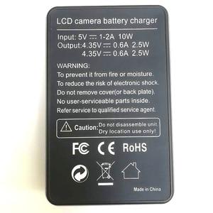 Image 3 - Original Für Xiaomi YI 4K Batterie AZ16 1 USB LCD Dual Ladegerät Action Kamera 2 4k + Lite Zubehör 1400mAh Akku