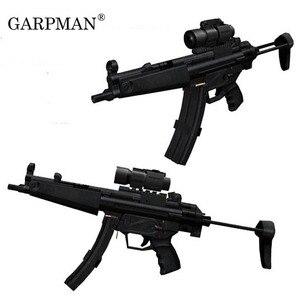 1:1 MP5 pistolet maszynowy Model papieru broń palna ręcznie Papercraft zabawki dla dzieci