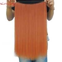 Ysz5050/1 p Xi. felsen Synthetische Farben perücken Halo Elastische Seil Haar Verlängerung Um Kopf Gerade Nähen in der Webart Doppel Schuss perücke