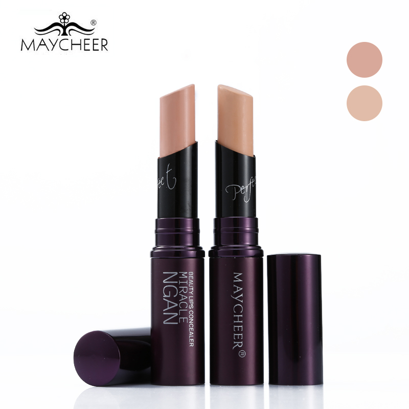 MAYCHEER Makeup Lips Creamy Concealer Stick Perfect Concealing Blemish Dark Circles Nutritious Face Concealer Cream Cosmetics image