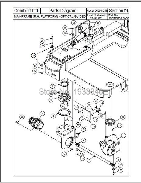 popular forklifts parts
